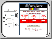 LED Protection Resistor Calculator